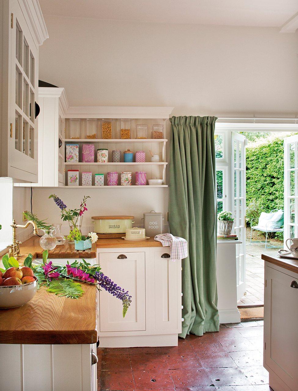 Una vida entre telas for Telas de cocina