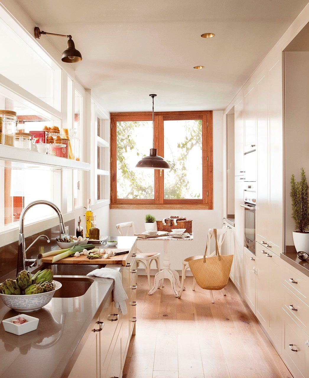 Ideas para redise ar tu cocina - Cocinas alargadas y estrechas fotos ...