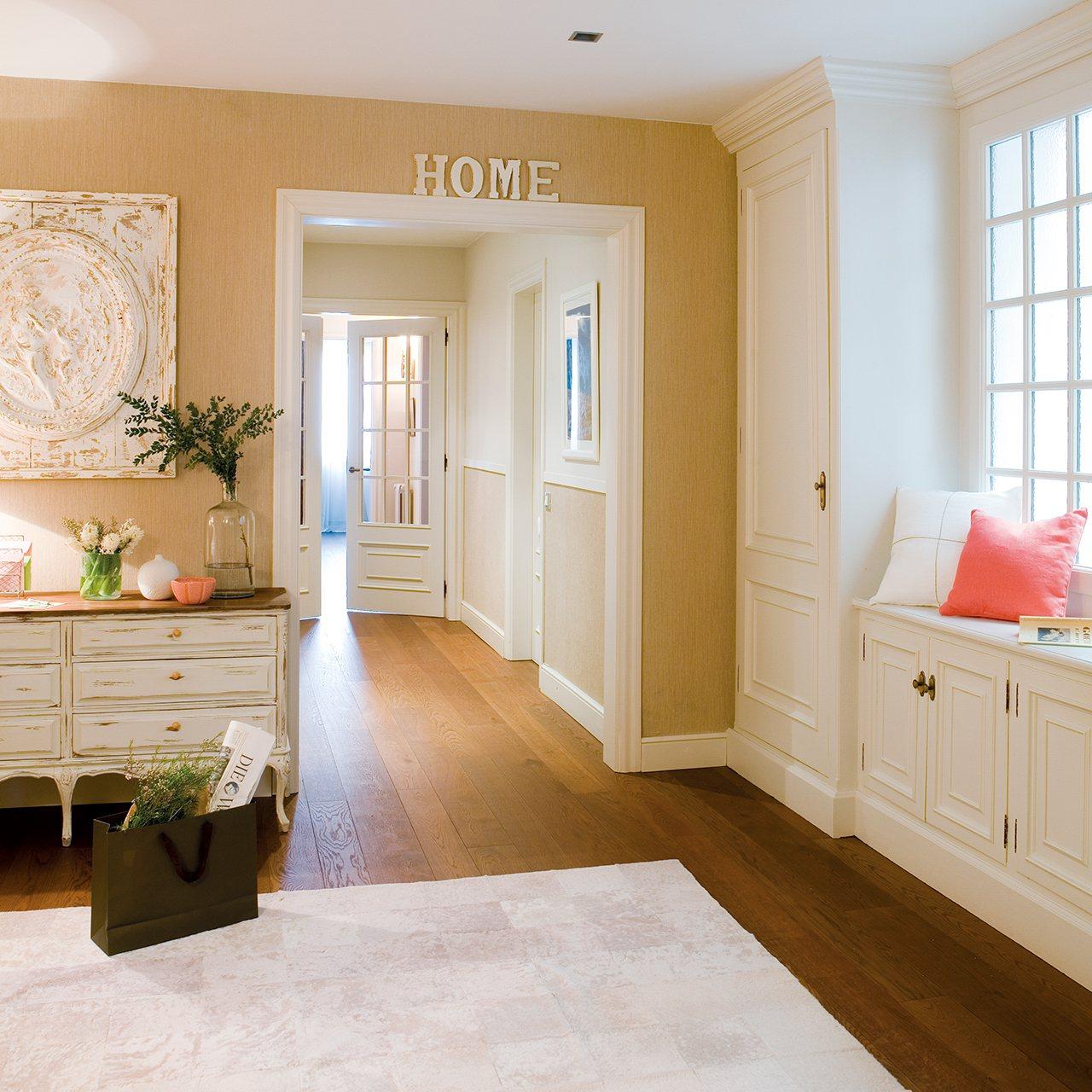 Reinventa tu recibidor con peque os cambios - Recibidor con armario ...