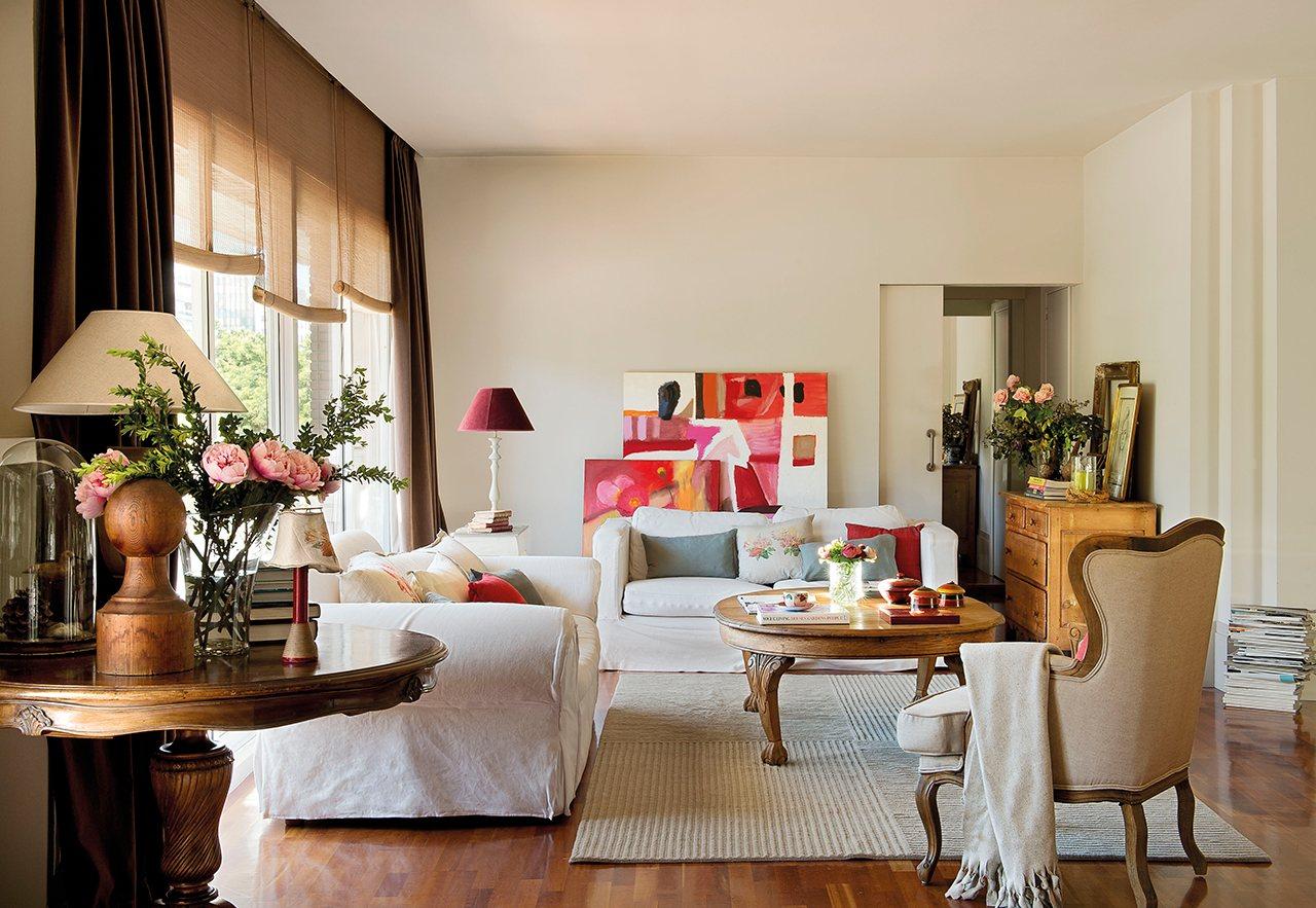 Tico que combina hogar y trabajo for Como decorar un piso de 40 metros cuadrados