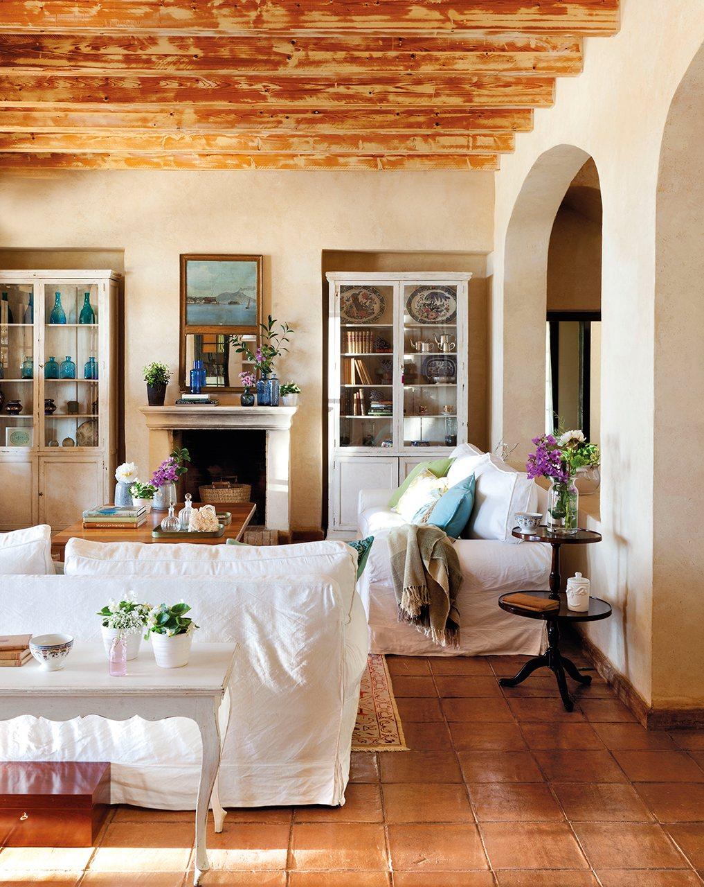 Una casa para todas las estaciones - Muebles estilo mediterraneo ...