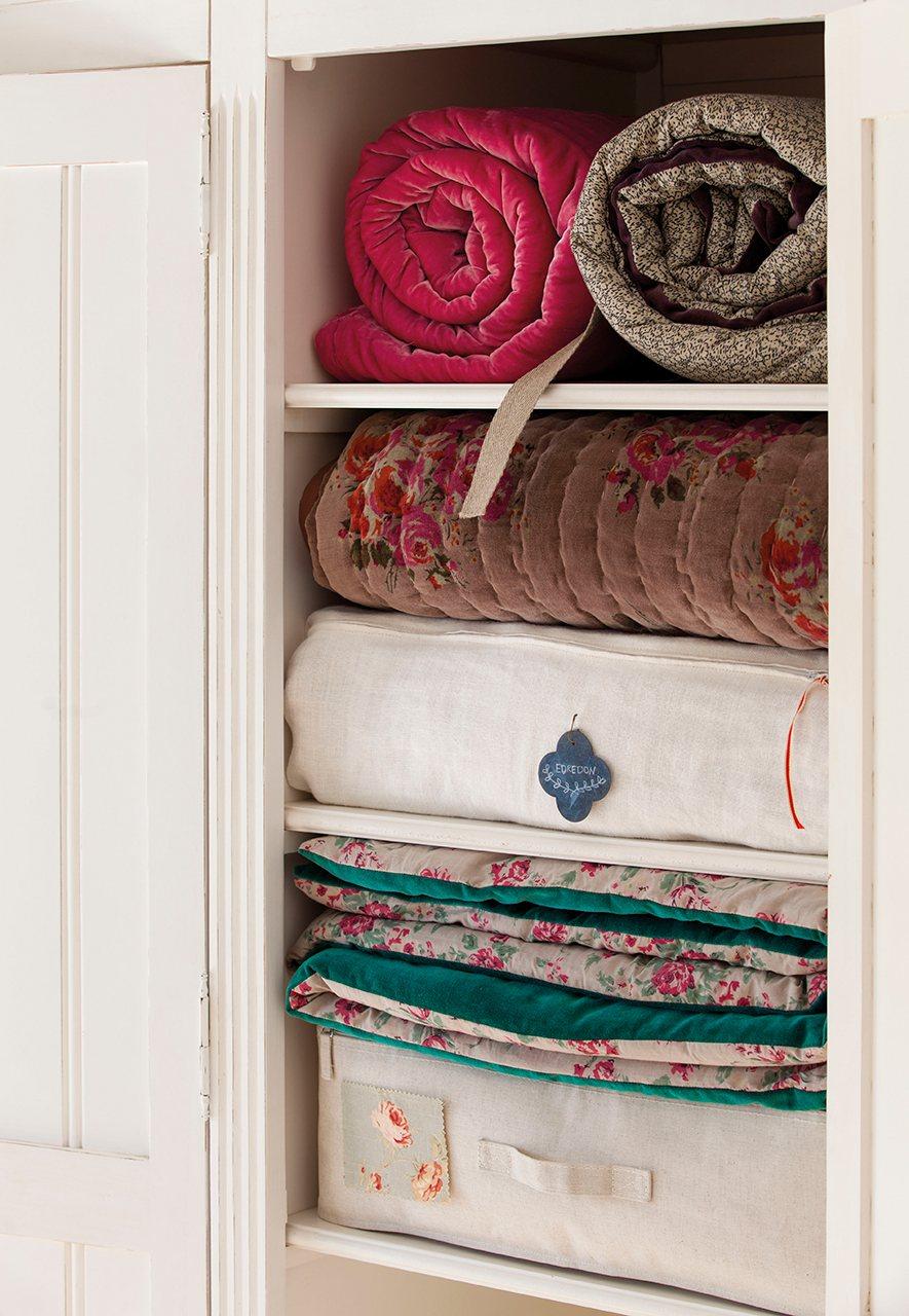 Guarda Vertical Baño:Cambio de temporada: cuida y guarda tu ropa