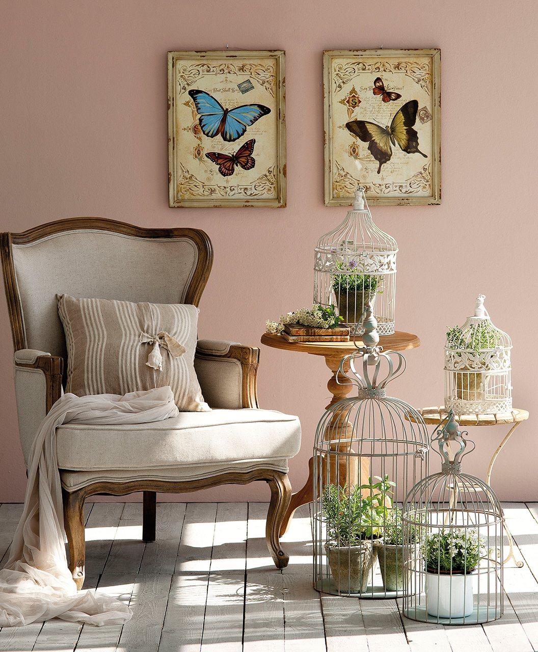 Da una segunda vida a los objetos y personaliza la decoraci n for Decoracion con jaulas