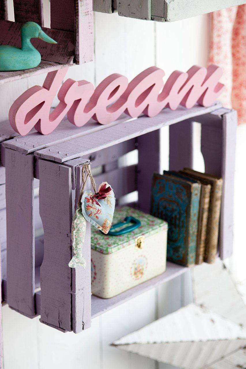 Da una segunda vida a los objetos y personaliza la decoraci n - Caja fruta decoracion ...