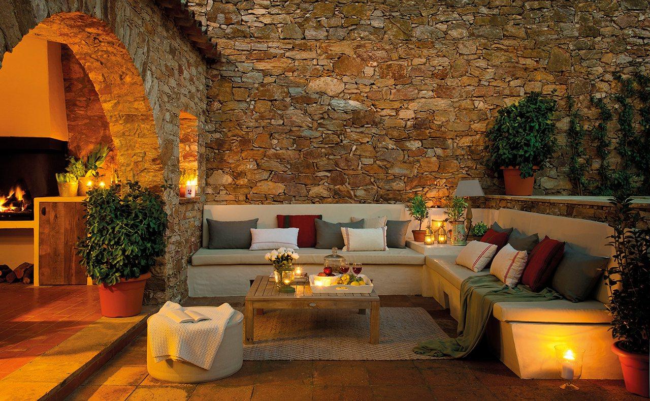 Una casa alrededor del porche - Chill out en casa ...