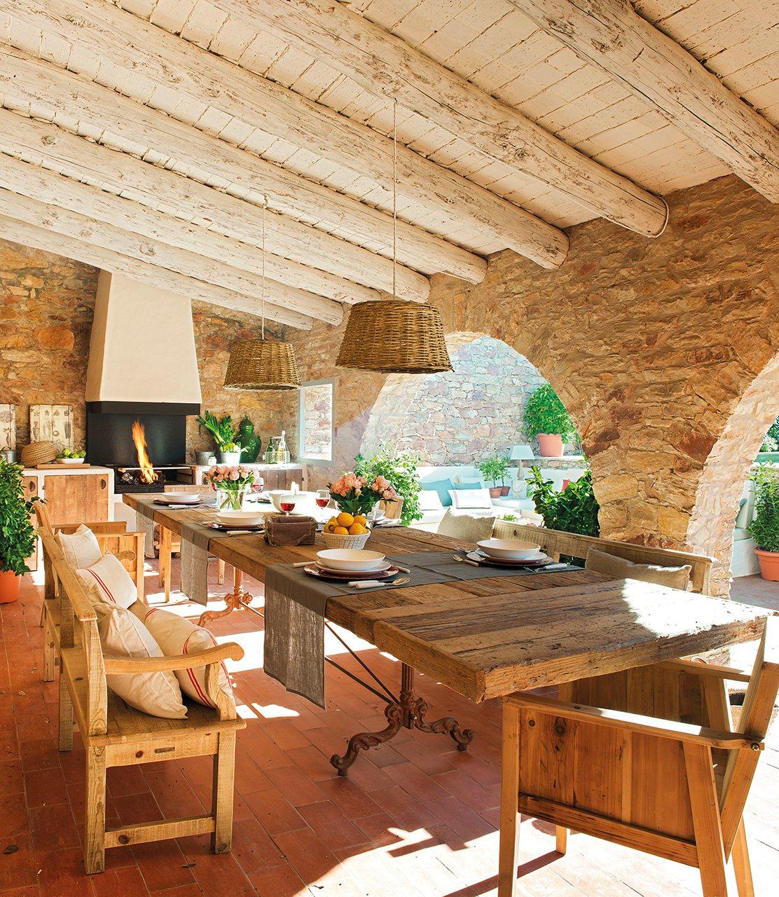 Una casa alrededor del porche - Muebles para porches ...