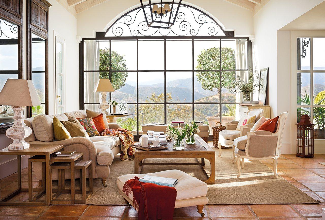 15 salones muy frescos y con vistas for Plato de decoracion marroqui salon 2014