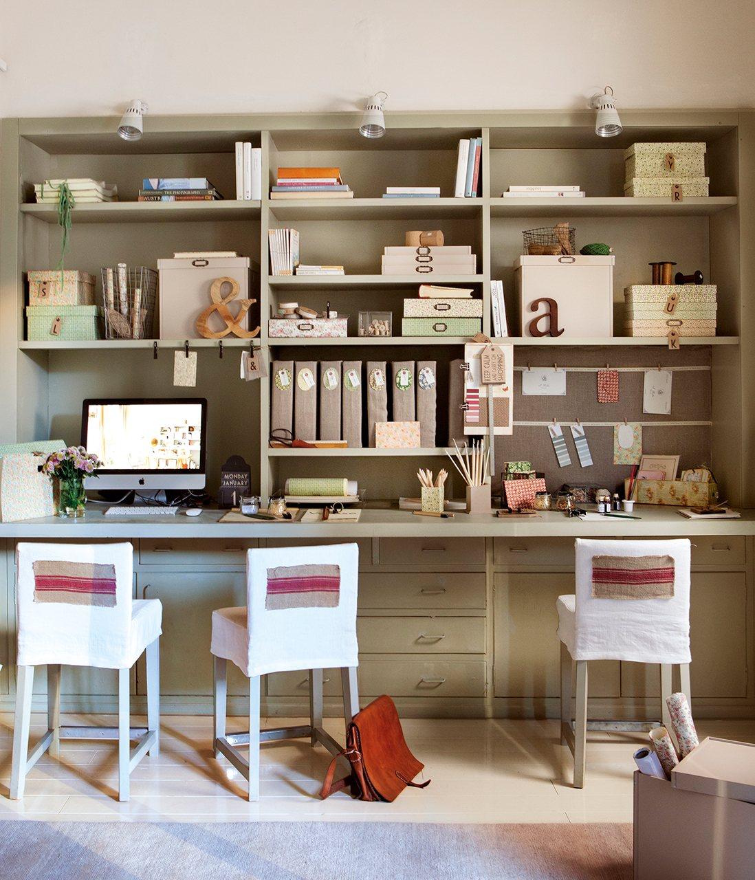 Organiza tus papeles trucos pr cticos y bonitos - Estanterias para escritorios ...