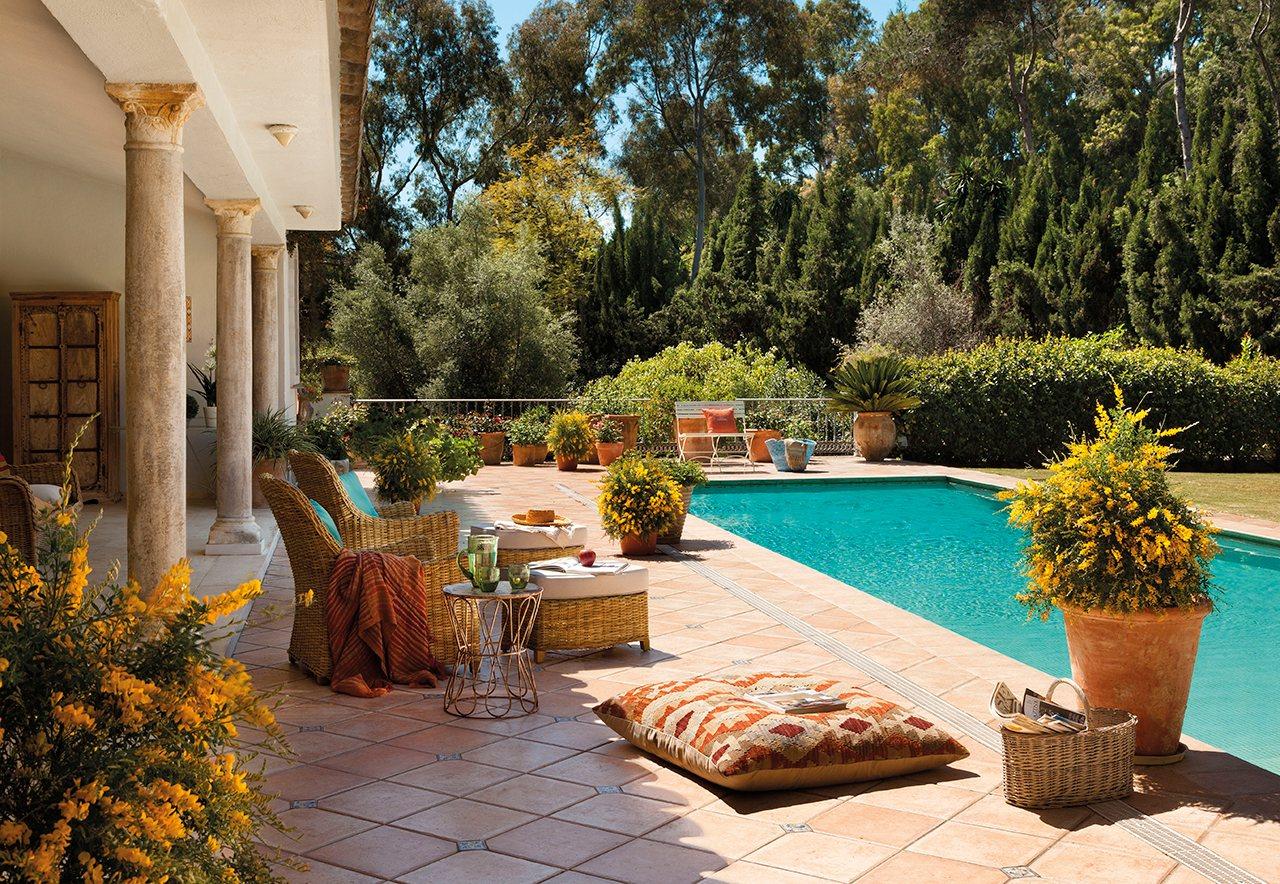 La casa de las mimosas - Pequenos jardines con encanto ...