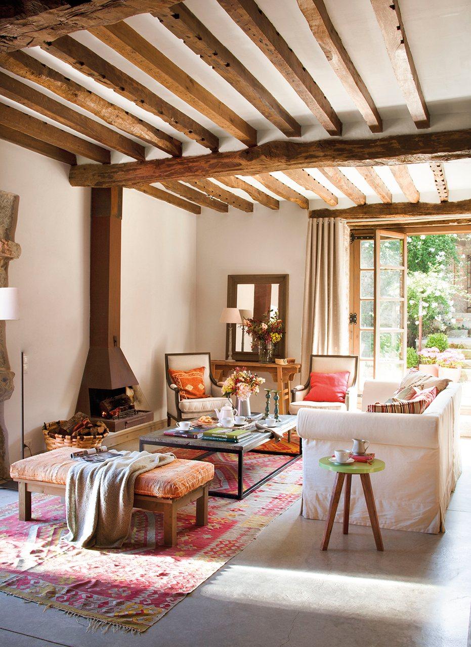 1000 images about italian style decor on pinterest - Chimeneas de piedra ...