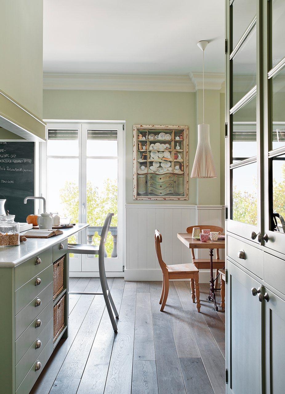Una cocina que reúne lo mejor de ayer y hoy