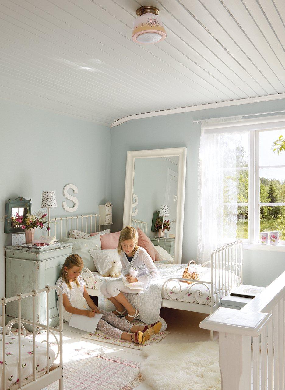 Un espacio para crecer con ellas - Dormitorio nina ikea ...
