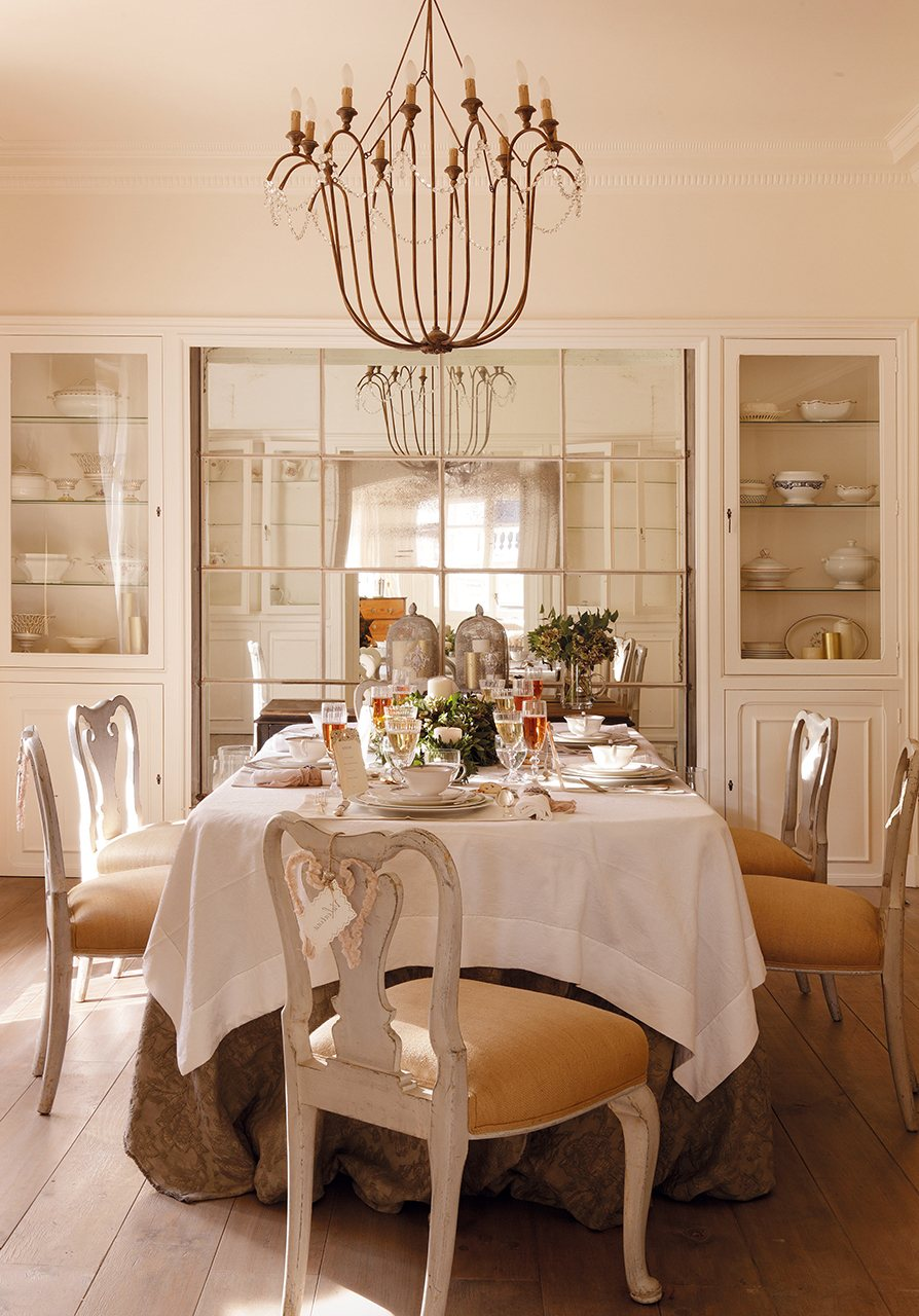 Peque os cambios que ampliar n tu casa Espejos para salon comedor