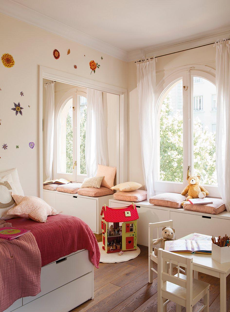 Un tico para toda la vida - Dormitorios infantiles para dos ...
