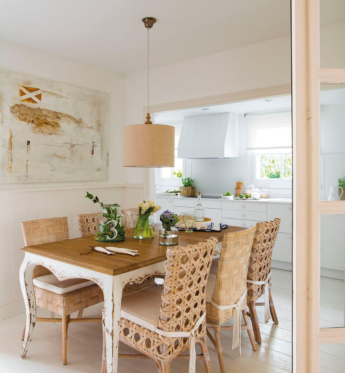 70 m2 en blanco ibicenco - Casas decoradas en blanco ...