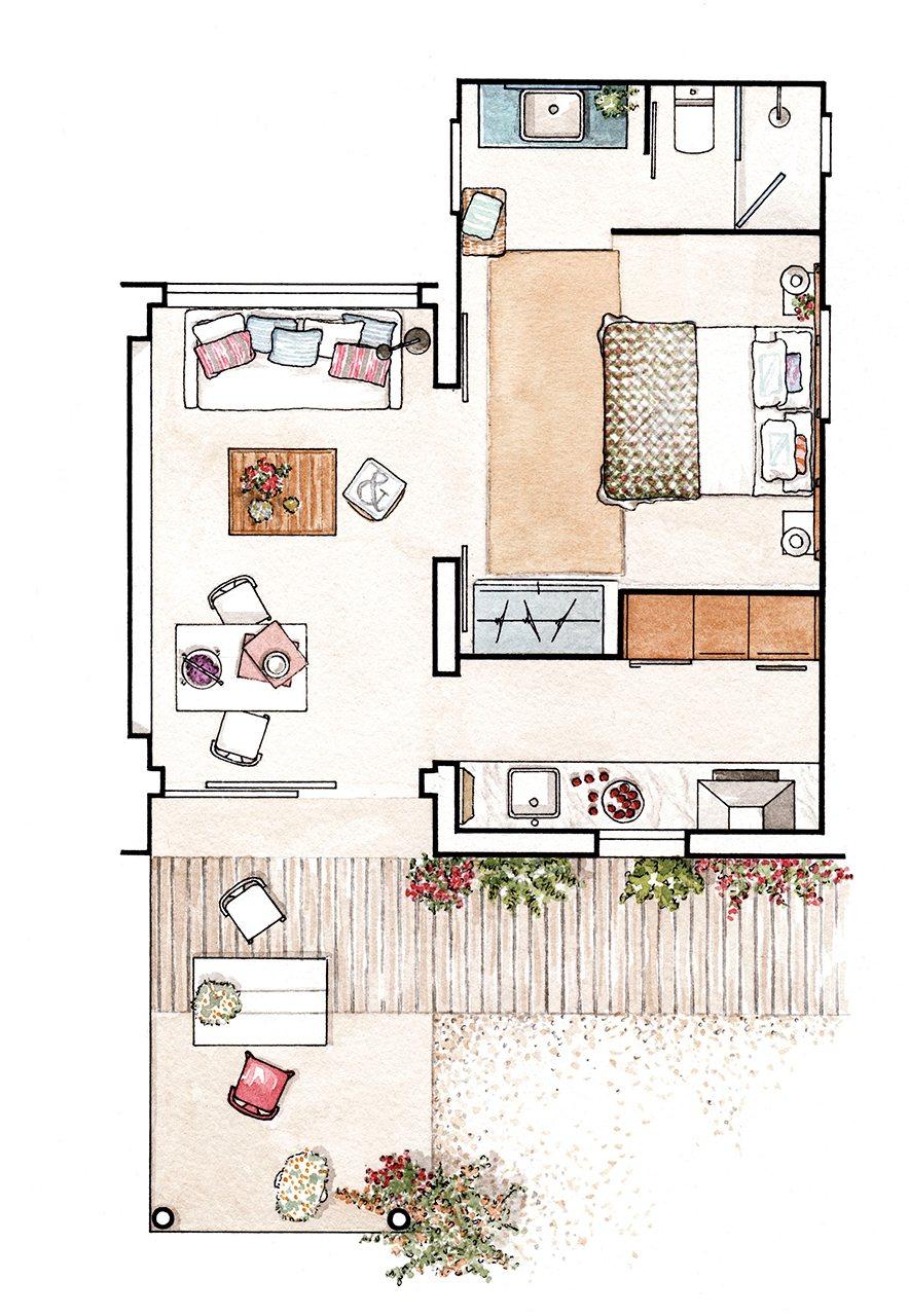 c mo decorar un apartamento de 37 metros cuadrados en