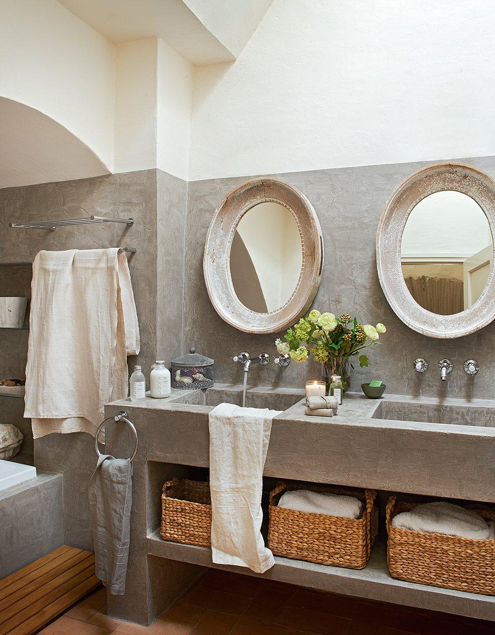 Muebles De Baño Antiguos:Un antiguo pajar que acabó siendo la casa ideal