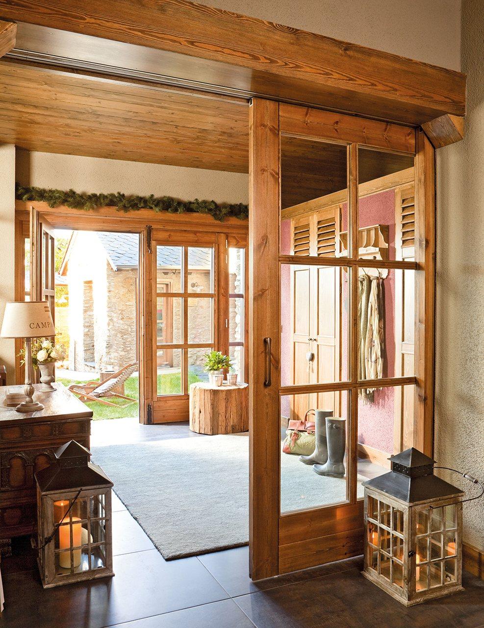 Gana espacio extra en casa for Puertas acristaladas interior