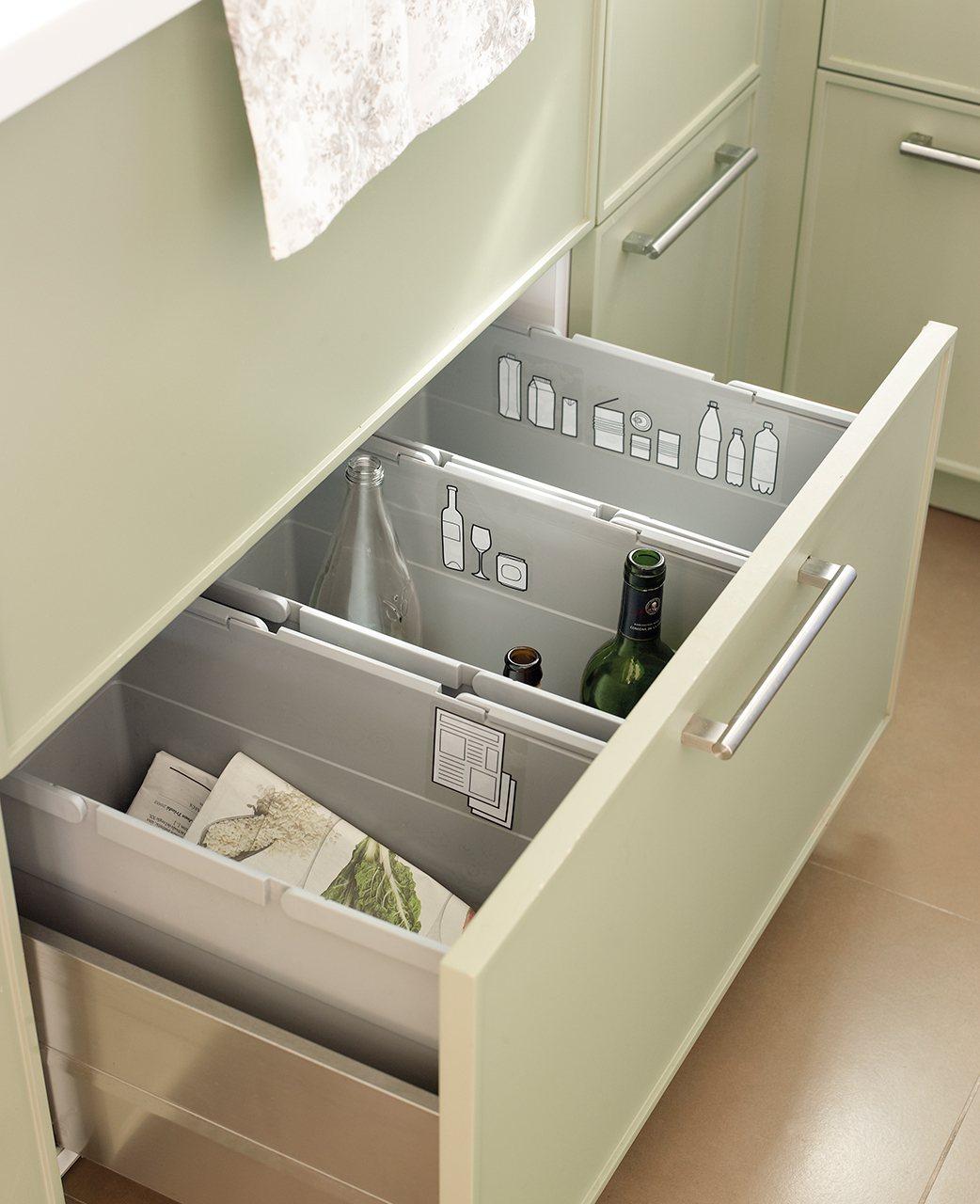 Organiza la cocina y tenlo todo a mano for Separadores cajones cocina