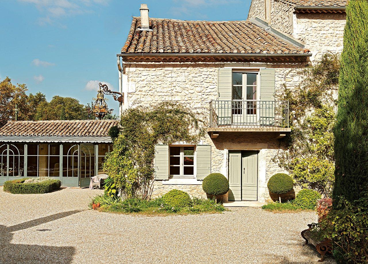 Una vieja casa de hu spedes en la provenza - Piedras para fachadas de casas rusticas ...