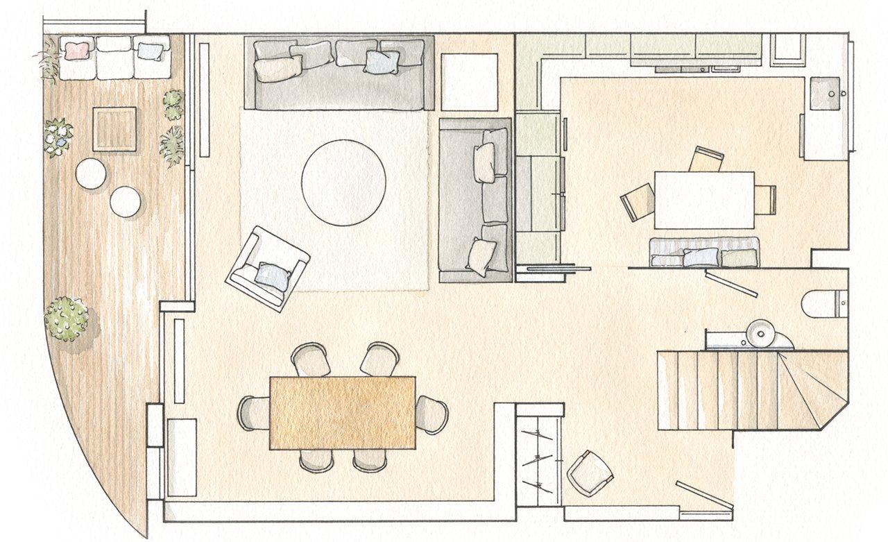 Planos de casas planta baja beautiful casas modernas - Planos de casas de planta baja ...