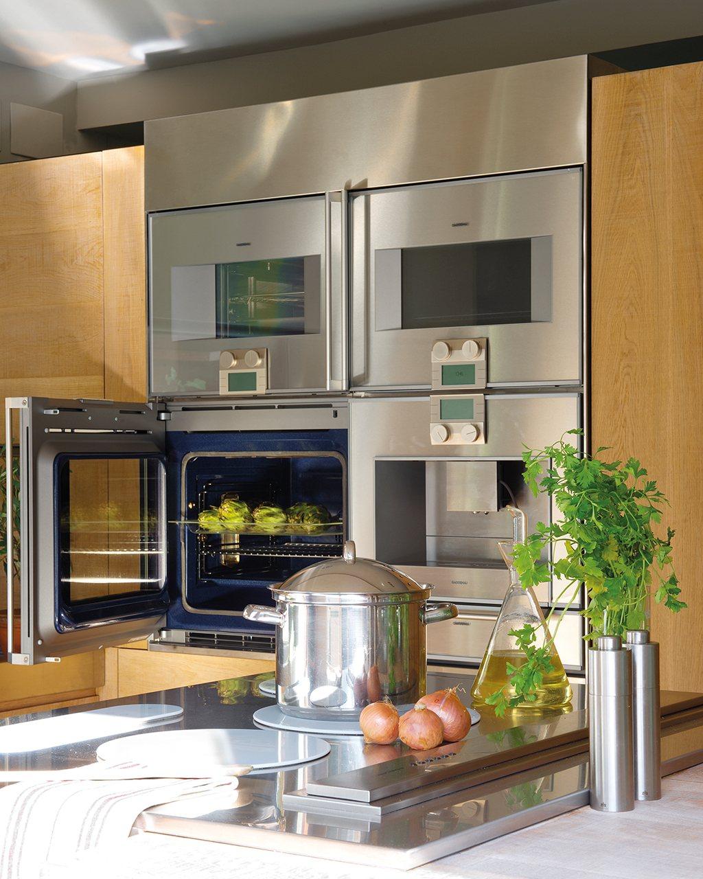 Electrodom Sticos Para Una Cocina M S Limpia Y Sana # Muebles De Cocina Gaggenau