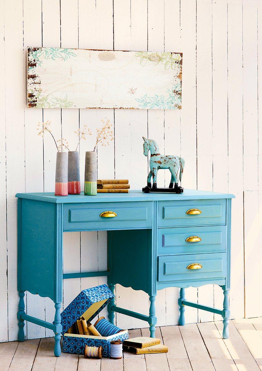 Actualiza tus muebles con color y con tus propias manos - Muebles pintados de colores ...