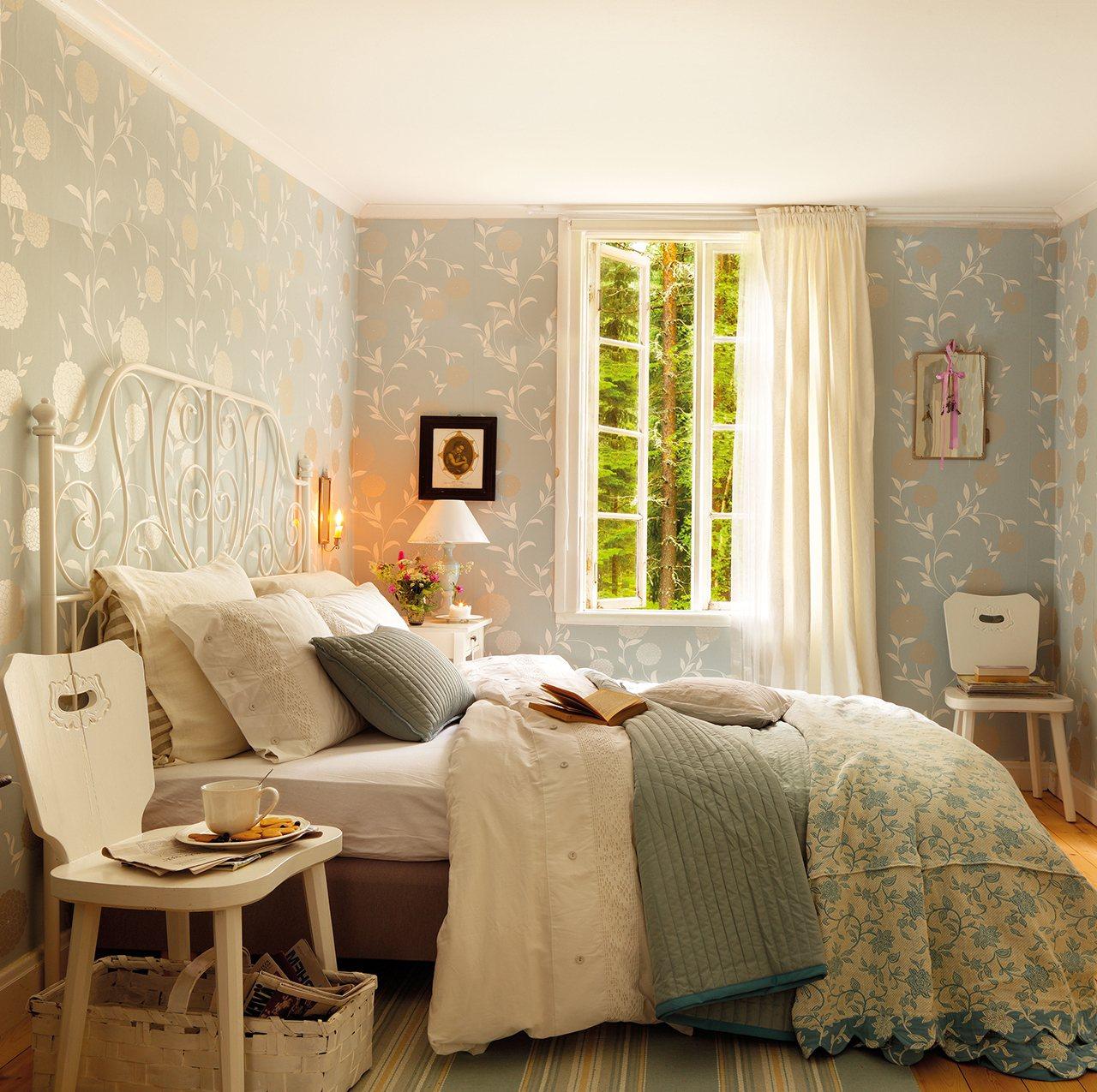 Mucho m s que cabeceros for Dormitorios pintados en gris