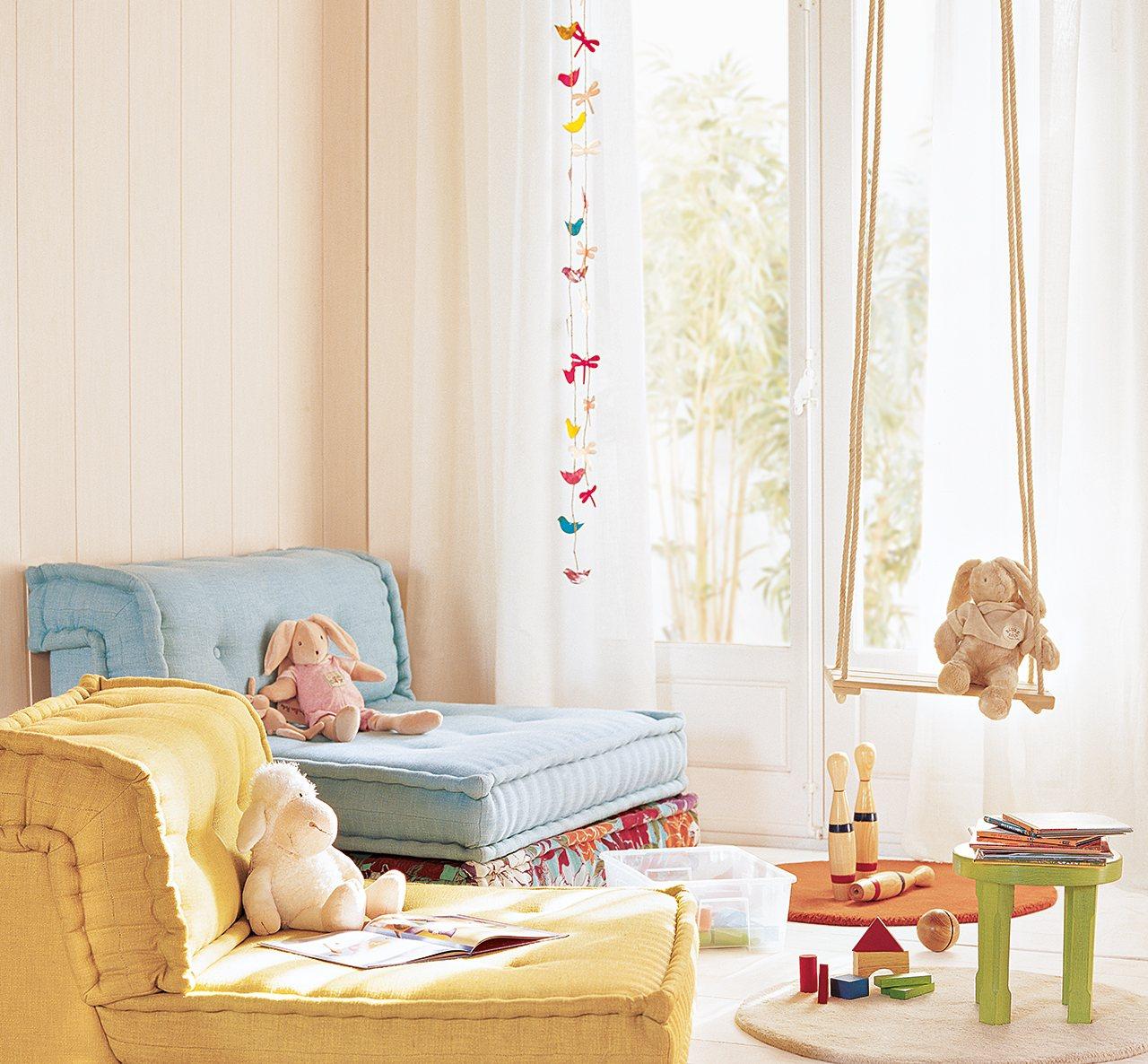 30 habitaciones de juegos para todas las edades for Decoracion cuartos pequenos ninos