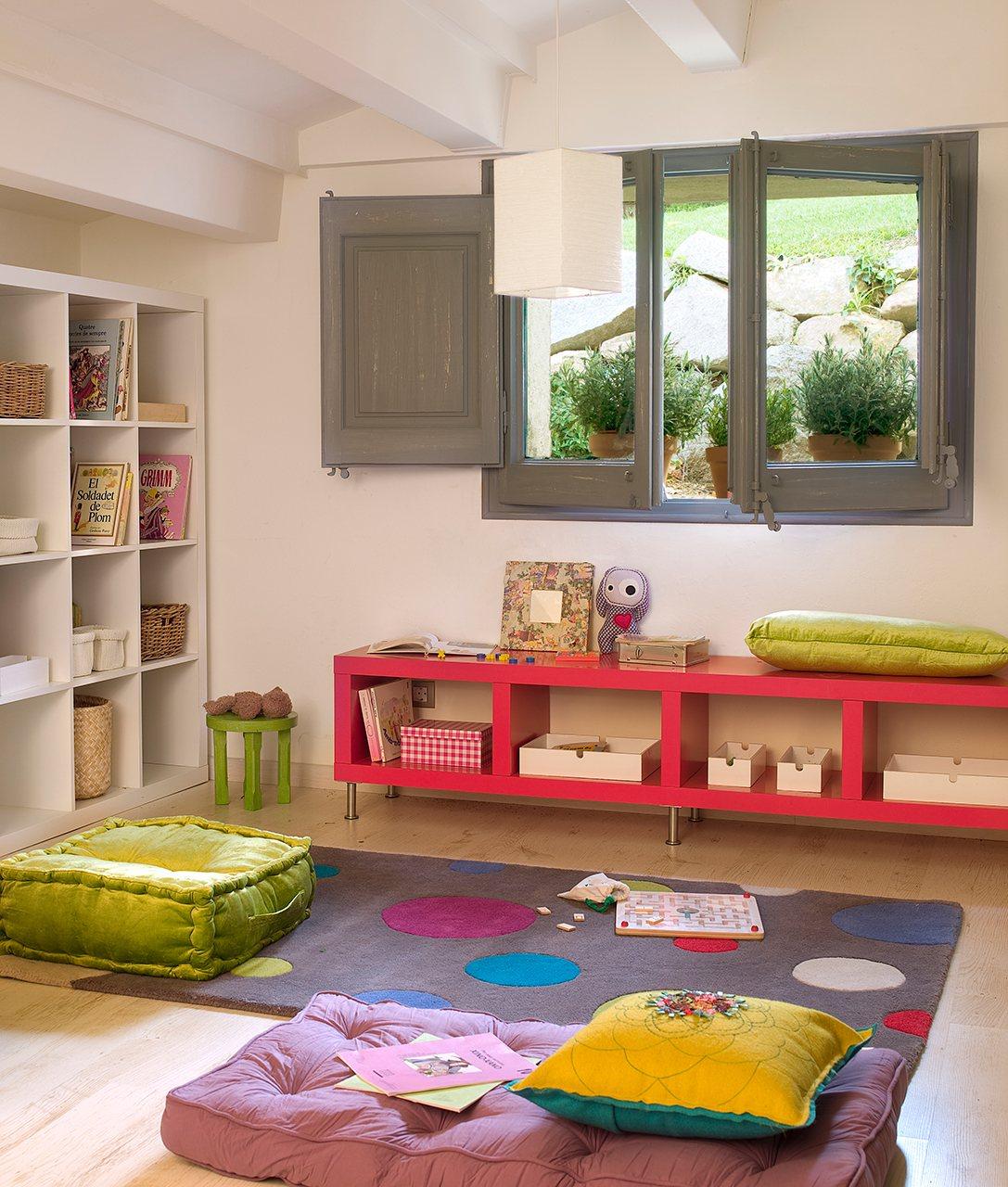 30 habitaciones de juegos para todas las edades for Recoger muebles