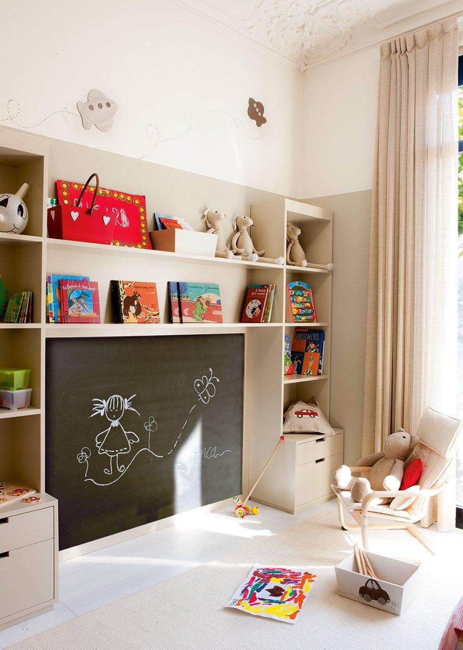 15 cuartos de juego para todo tipo de ni os - Habitaciones infantiles ninos 4 anos ...
