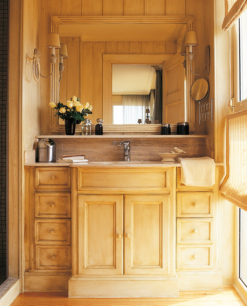 Dormitorios perfectos ideas para inspirarte for Revestimiento de madera para banos