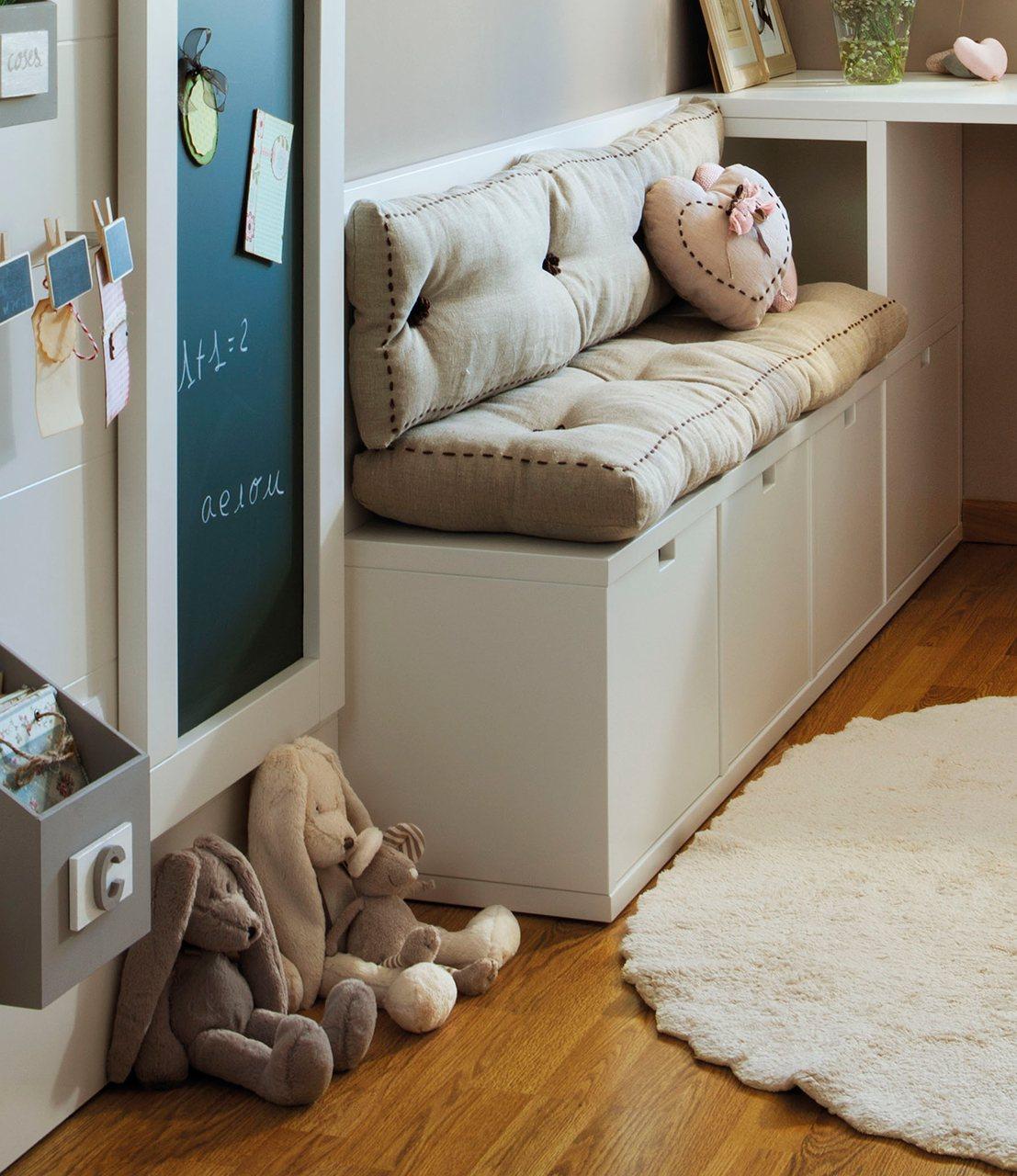 Ideas para ganar metros y ampliar visualmente pisos peque os for Bona nit muebles