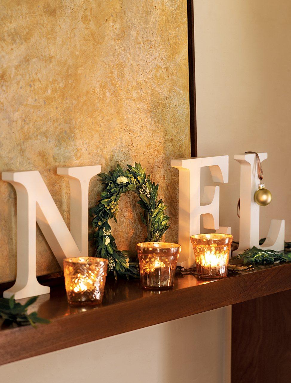 Descubre la decoraci n navide a m s natural - Decoracion navidena natural ...