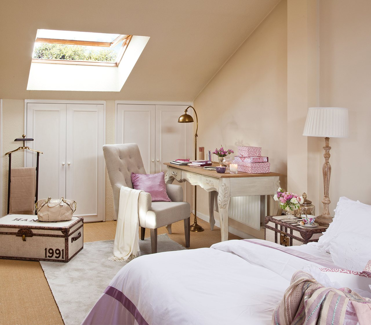 Zonas Dormitorio ~ 14 ideas para sacar sitio extra en casa