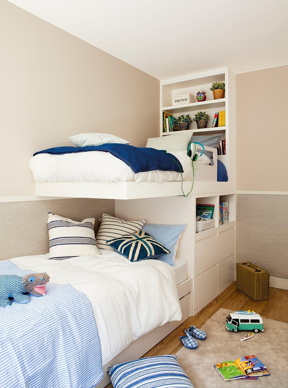 La nueva vida de un piso antiguo - Dormitorio juvenil nino ...