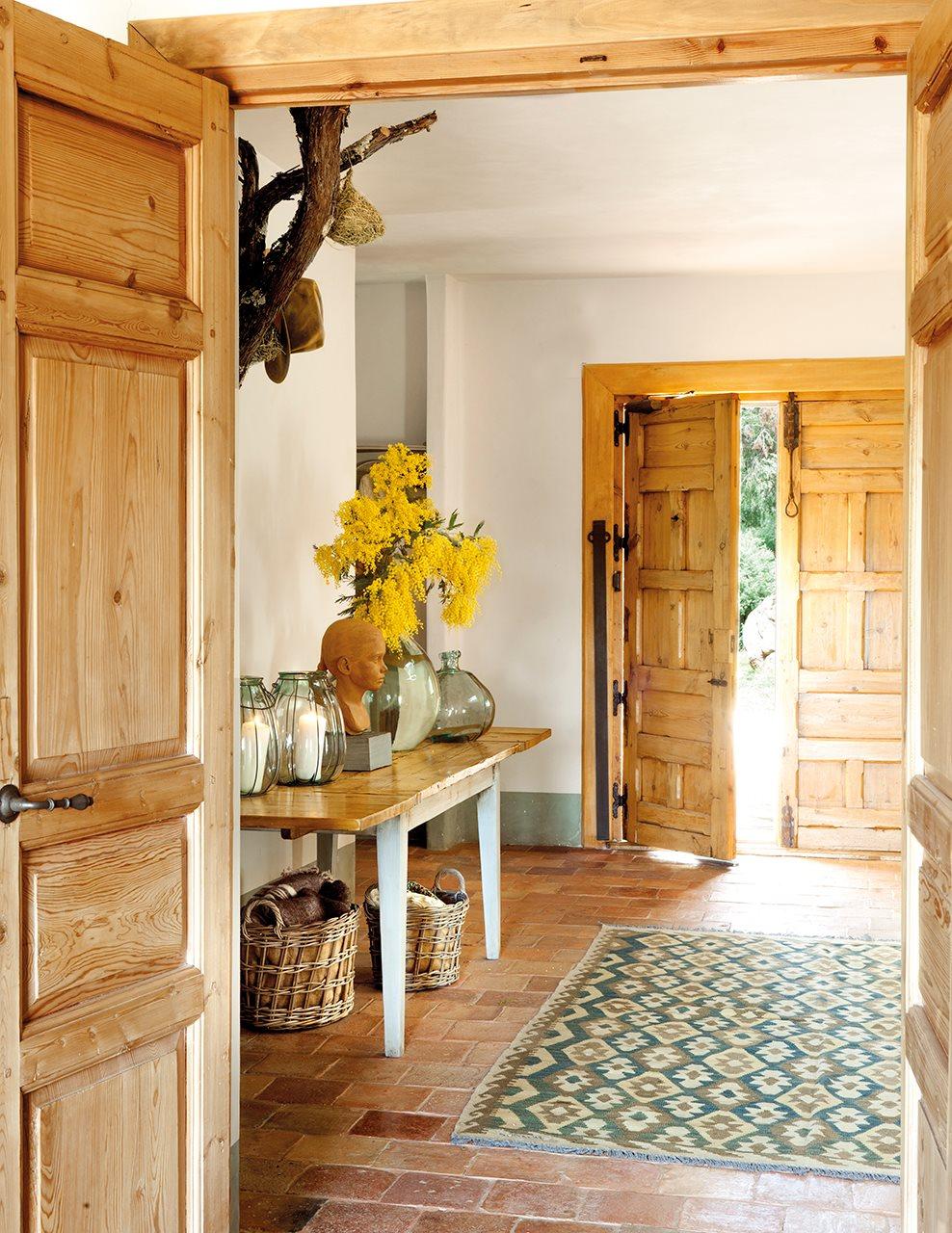 Una casa de monta a sostenible y natural - Entradas de casas rusticas ...