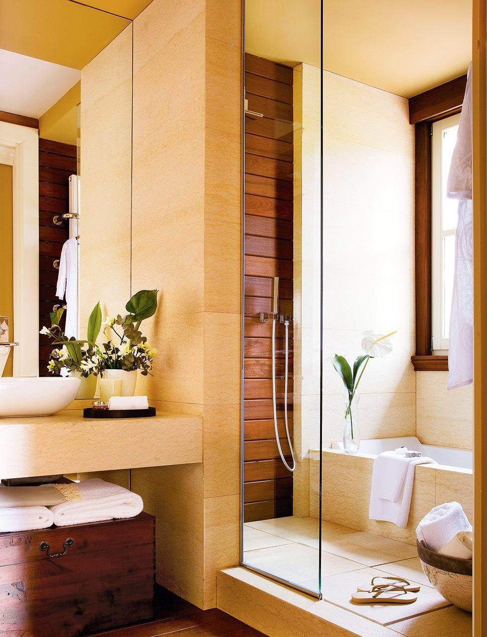 C mo meter la ducha en el ba o - Bano con banera y ducha ...