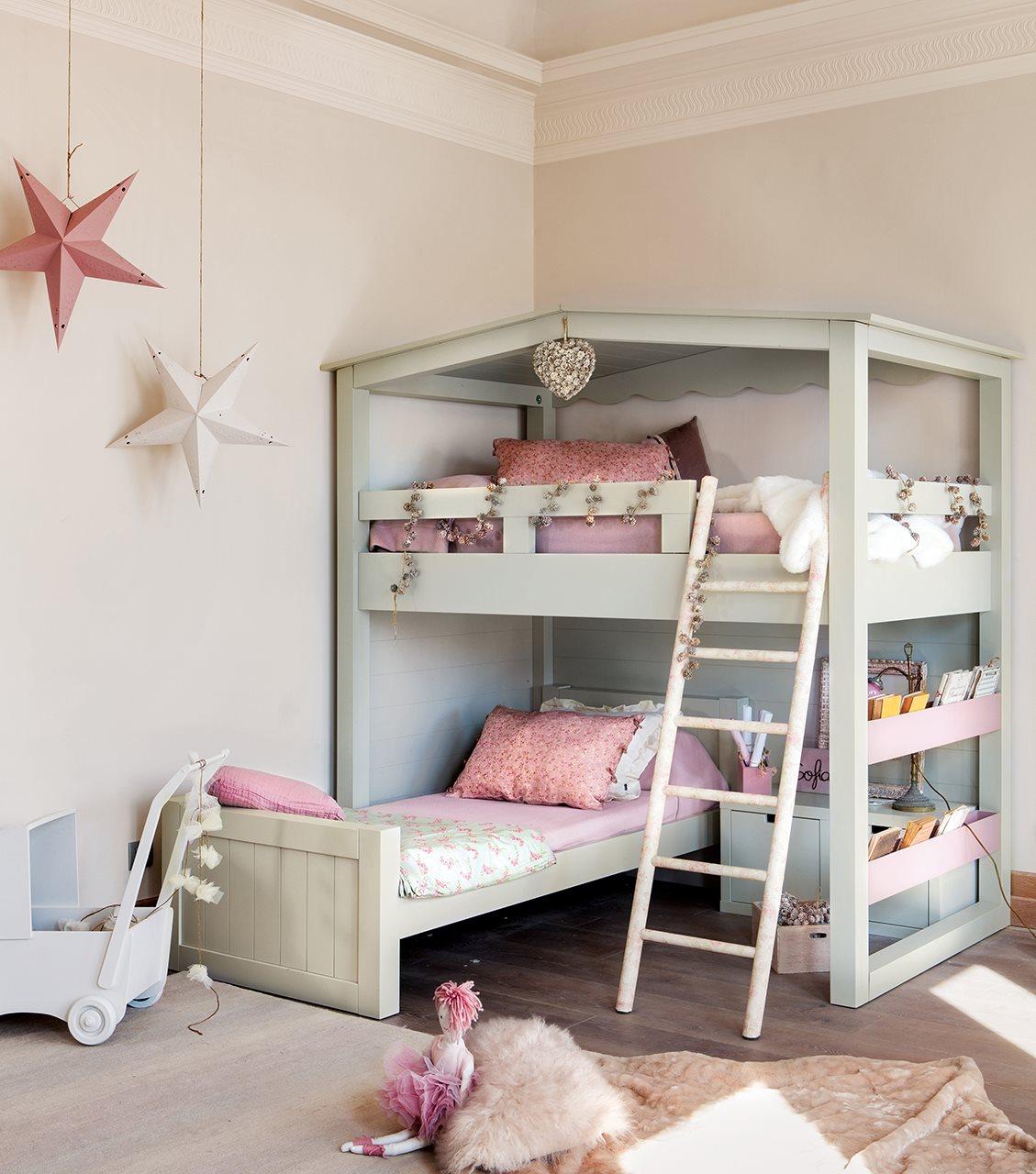 10 ideas para una habitaci n de dos o m s - Camas muy grandes ...