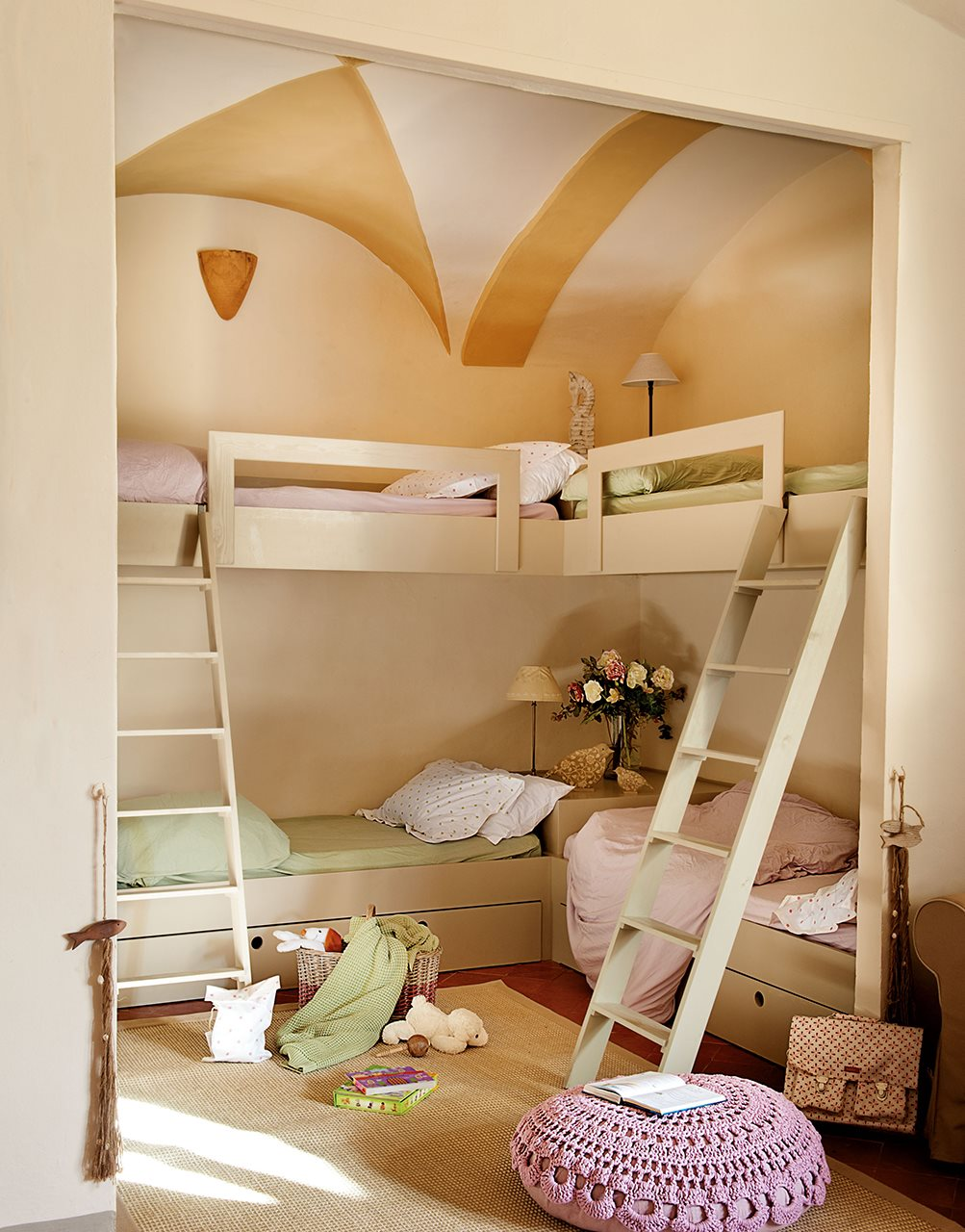 10 ideas para una habitaci n de dos o m s for Habitacion para 2 ninos