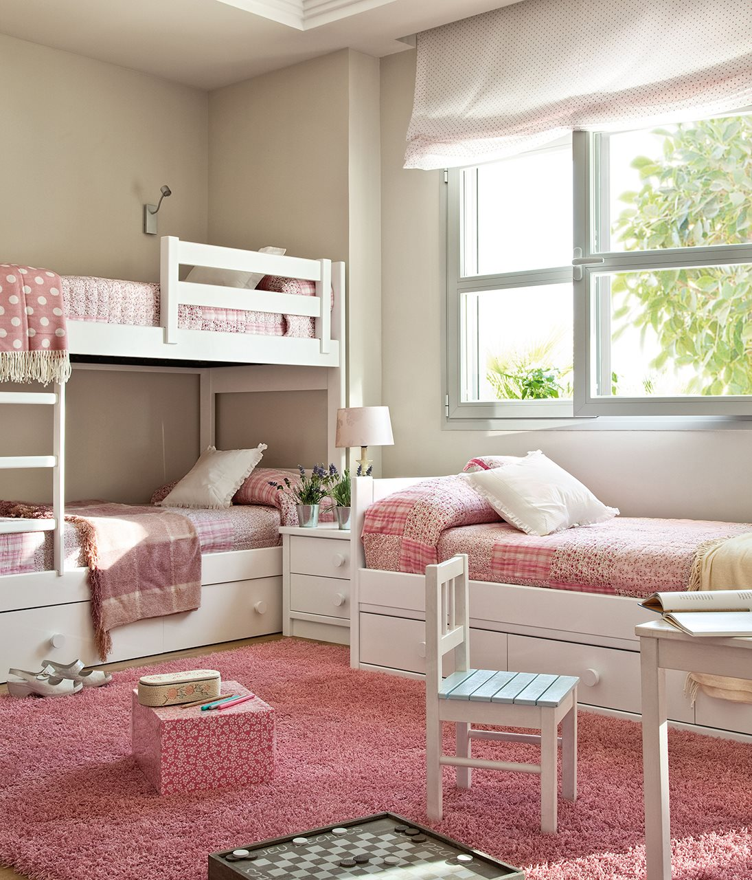 10 ideas para una habitaci n de dos o m s for Decoracion de piezas