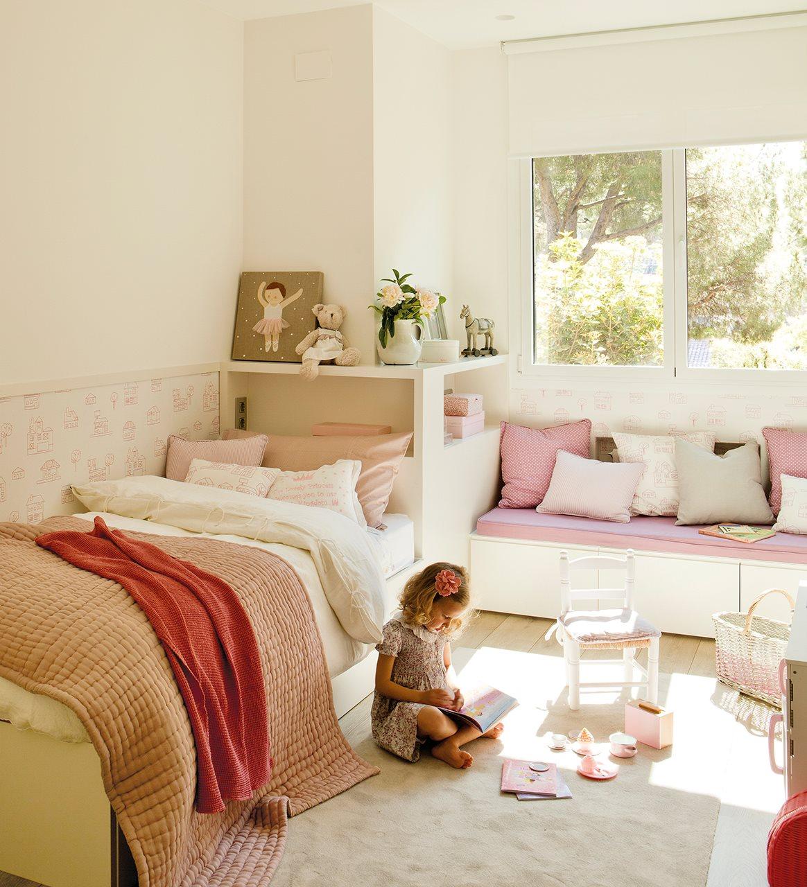 10 ideas para una habitaci n de dos o m s for Dormitorio juvenil nina