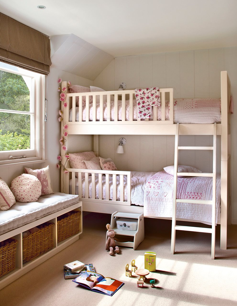 10 ideas para una habitaci n de dos o m s for Dormitorios con literas