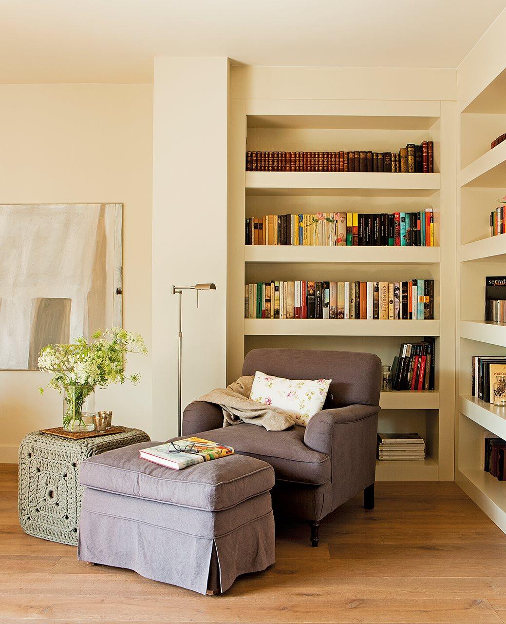 Dos pisos peque os unidos en uno - Butacas de lectura ...