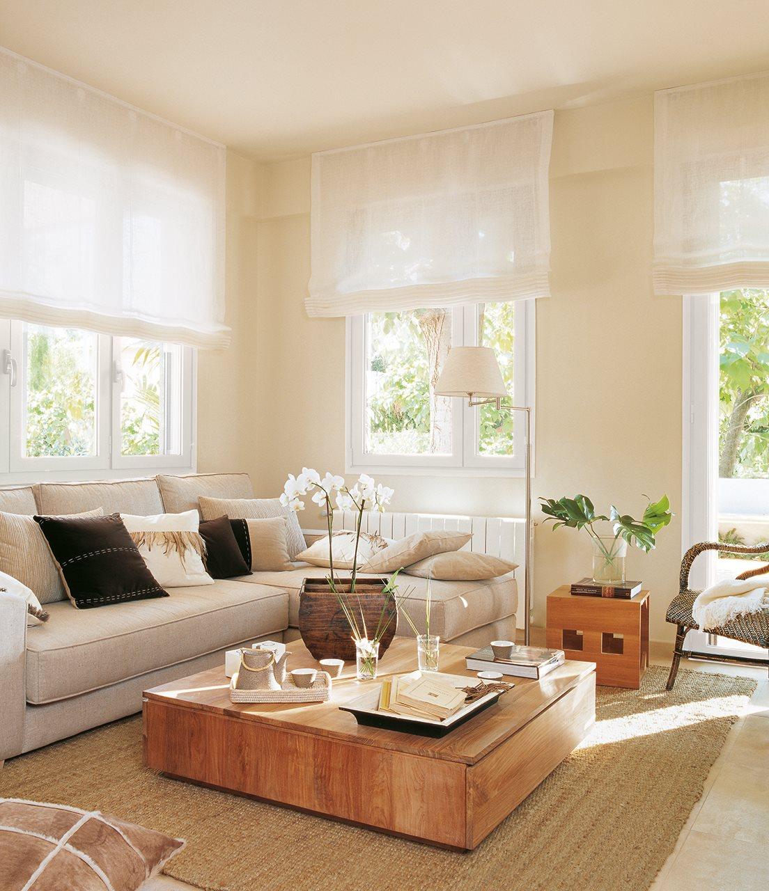 10 salones peque os muy bien decorados for Decoracion salones modernos pequenos