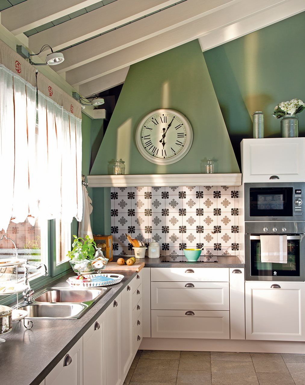 Ayer y hoy en equilibrio - Muebles de cocina de obra ...