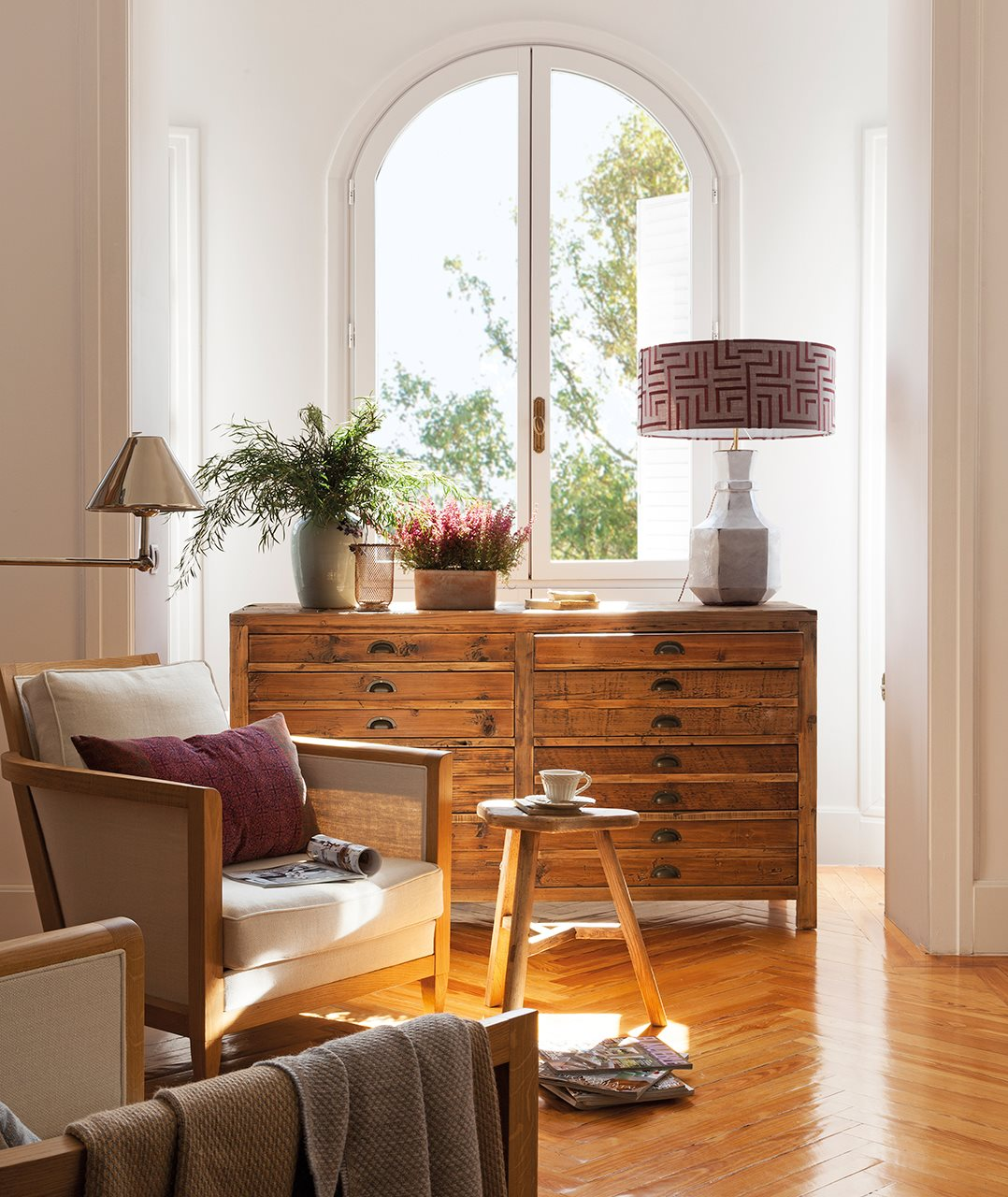 Muebles antiguos recuperados y restaurados