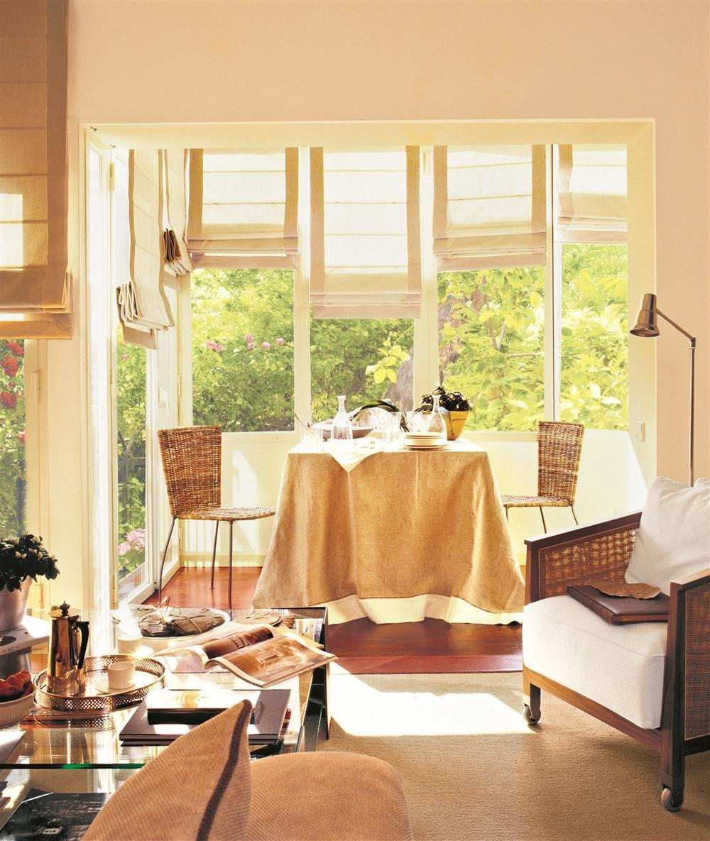 Tu piso es mini ideas para ampliarlo for Comedor para terraza