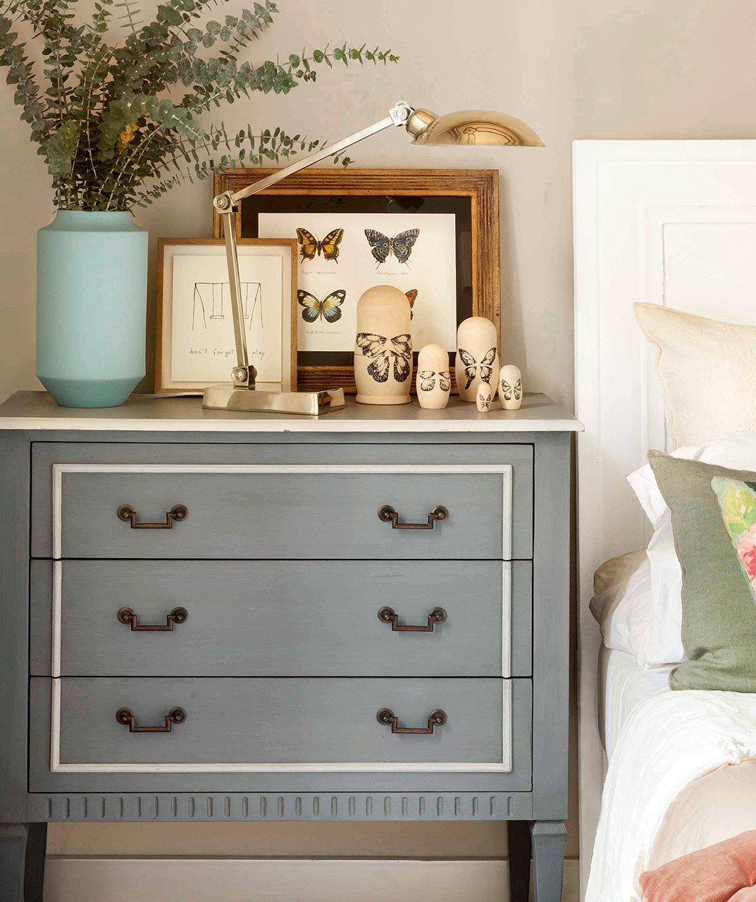 Un dormitorio con cinco estilos diferentes cu l te gusta m s - Comodas pintadas ...