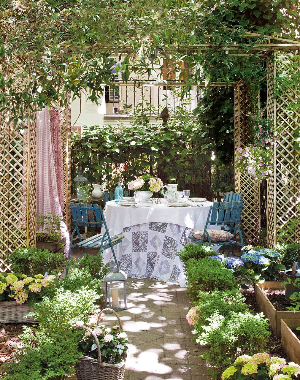 Crea tu terraza ideal en la ciudad - Jardin de bambu talavera ...